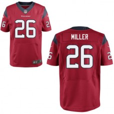2016 Houston Texans 26 MILLER red Nike Elite Jerseys