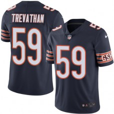 2016 Nike Chicago Bears 59 Danny Trevathan Navy Blue Mens Stitched NFL Limited Rush Jersey