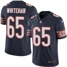 2016 Nike Chicago Bears 65 Cody Whitehair Navy Blue Mens Stitched NFL Limited Rush Jersey