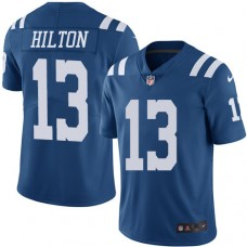 2016 Nike Indianapolis Colts 13 T.Y. Hilton Royal Blue Mens Stitched NFL Limited Rush Jersey
