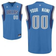 Adidas Dallas Mavericks Youth Custom Replica Road Royal NBA Jersey
