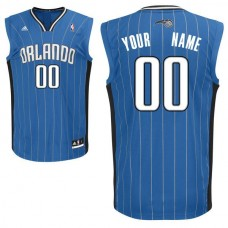 Adidas Orlando Magic Youth Custom Replica Road Blue NBA Jersey