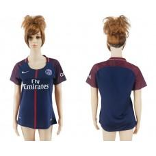 2017-2018 Club Pari St German home aaa verion women soccer jersey