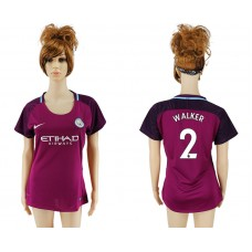2017-2018 Club manchester city away aaa version women 2 soccer jersey