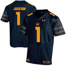 Men California Golden Bears 1 DeSean Jackson Dark blue Customized NCAA Jerseys1