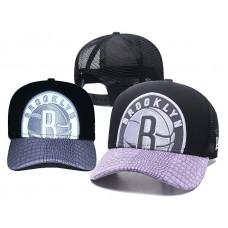 2018 NBA Brooklyn Nets Snapback hat 0517