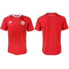 2018 World Cup Men Costa Rica home aaa version soccer jersey
