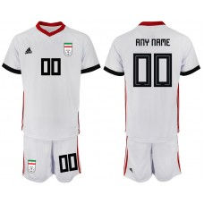 2018 World Cup Men Iran home customized  soccer jersey