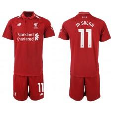 2018-2019 Men club 11 Liverpool home soccer jersey