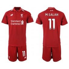 2018-2019 Men club Liverpool home 11 soccer jersey