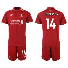 2018-2019 Men club Liverpool home 14 soccer jersey