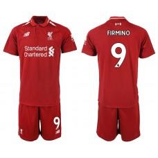 2018-2019 Men club Liverpool home 9 soccer jersey