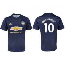 2018-2019 Men club Manchester united away aaa version 10  soccer jersey