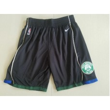 2018 Men NBA Nike Milwaukee Bucks black shorts