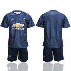 2018-2019 club Men Manchester United second away suit soccer jerseys