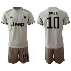Men 2018-2019 club Juventus away 10 grey Soccer Jerseys