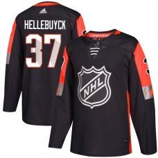 Adidas Men Winnipeg  Jets 37 Connor Hellebuyck Black 2018 All-Star NHL Jersey