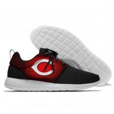 Men  Cincinnati Reds Roshe style Lightweight Running shoes 4