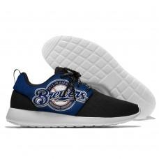 Men  Milwaukee Brewers Roshe style Lightweight Running shoes 5