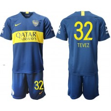 Men 2018-2019 club Boca juniors home 32 blue Soccer Jerseys