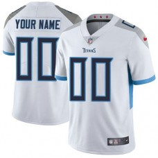 2019 NFL Youth Nike Tennessee Titans White Road Customized Vapor Untouchable Limited jersey