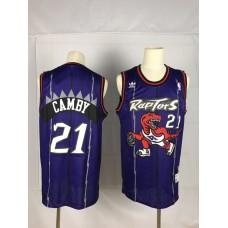 2019 Men Toronto Raptors 21 Camby Purple NBA Nike Jerseys