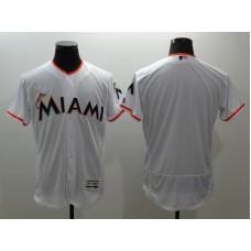 2016 MLB FLEXBASE Miami Marlins blank white  jerseys