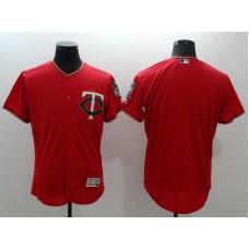 2016 MLB FLEXBASE Minnesota Twins blank red jerseys