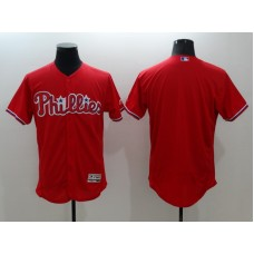 2016 MLB FLEXBASE Philadelphia Phillies blank red jerseys