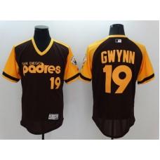 2016 MLB FLEXBASE San Diego Padres 19 Tony Gwynn brown Jerseys 1