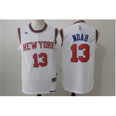 2016 NBA New York Knicks 13 Noah white jerseys