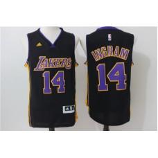 2016 NBA los angeles lakers 14 Ingram Black Jerseys