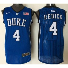 2016 NBA NCAA Duke Blue Devils 4 Redick Blue Jerseys 1