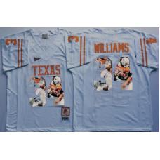 2016 NCAA Texas Longhorns 34 Williams White Fashion Edition Jerseys
