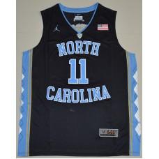 2016 North Carolina Tar Heels Brice Johnson 11 College Basketball Jersey - Black