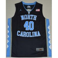 2016 North Carolina Tar Heels Harrison Barnes 40 College Basketball Jersey - Black