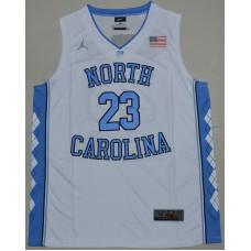 2016 North Carolina Tar Heels Michael Jordan 23 College Basketball Jersey - White