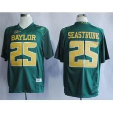 NCAA Baylor Bears 25 Lache Seastrunk Green College Football Jerseys