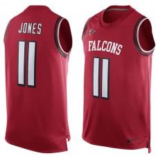 2016 Atlanta Falcons 11 Julio Jones  Nike Player Name & Number Tank Top - Red
