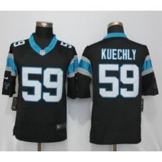 2016 Carolina Panthers 59 Kuechly Black Nike Limited Jerseys