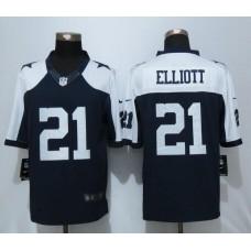 2016 Dallas cowboys 21 Elliott Blue Thanksgiving Nike Limited Jersey