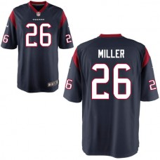 2016 Houston Texans 26 MILLER blue Nike Kids Jerseys