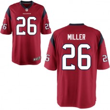 2016 Houston Texans 26 MILLER red Nike Kids Jerseys