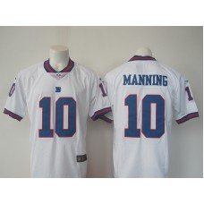 2016 Men New York Giants 10 Manning Nike White Color Rush Limited Jersey