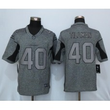 2016 New Nike Arizona Cardinals 40 Tillman Gray Men's Stitched Gridiron Gray Limited Jersey