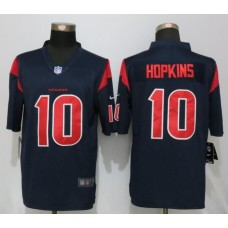 2016 Nike Men Houston Texans 10 Hopkins Navy Blue Color Rush Limited Jersey