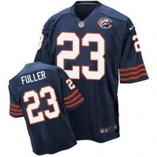 2016 Nike NFL Chicago Bears 23 Fuller throwback blue jersey