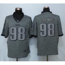 2016 Nike Philadelphia Eagles 98 Barwin Gray Men's Stitched Gridiron Gray Limited Jersey