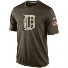 2016 Mens Detroit Tigers Salute To Service Nike Dri-FIT T-Shirt