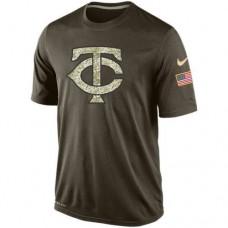 2016 Mens Minnesota Twins Salute To Service Nike Dri-FIT T-Shirt